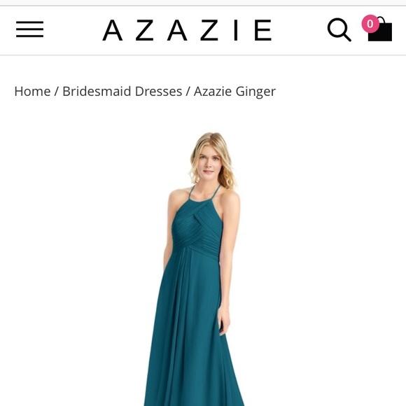 1e25ecf4 Azazie Dresses | Ginger Size 6 Dress Never Worn | Poshmark
